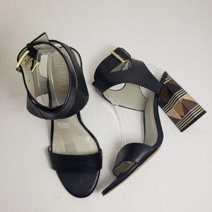 1 State IS-Rayla Open Toe Ankle Strap Heels Sz 10M
